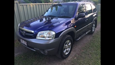 (SOLD) Mazda Tribute 4x4 SUV for sale 2004 review - YouTube