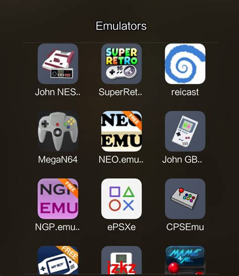 Emulators Pack For Android - Download Game PS1 PSP Roms