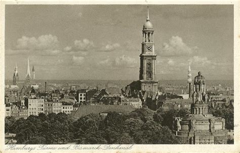Postcards of Hamburg in the 1930s