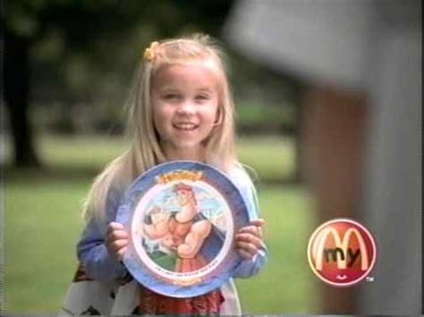 Emily Osment Happy Meal ad 1997