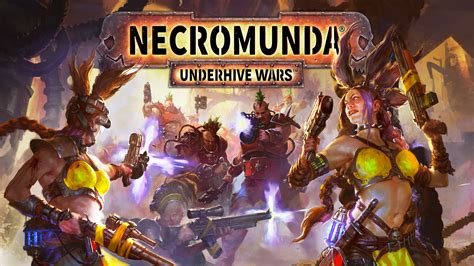 Necromunda: Underhive Wars launches for PlayStation 4