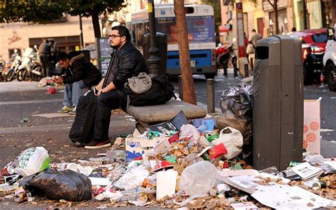 Mayor of Madrid demands action as streets overflow with