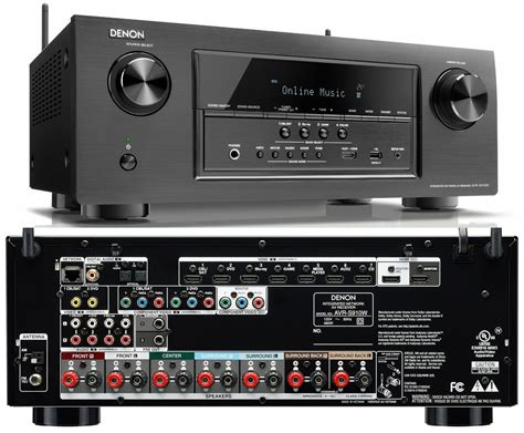 Denon Unveils AVR-S710W and AVR-S910W S-Series Receivers