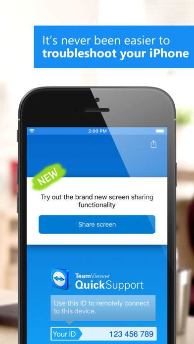 TeamViewer QuickSupport iPhone- / iPad-App - Download - CHIP