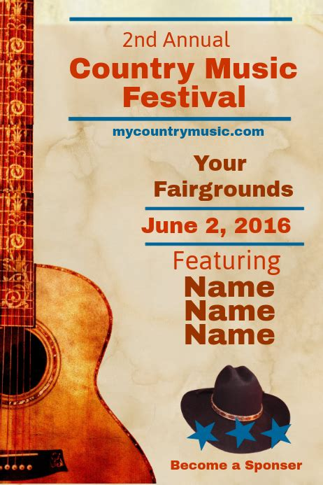 Copy of Country Music Festival   PosterMyWall