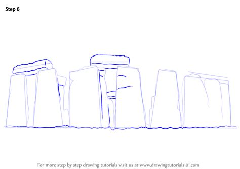 Learn How to Draw Stonehenge (World Heritage Sites) Step