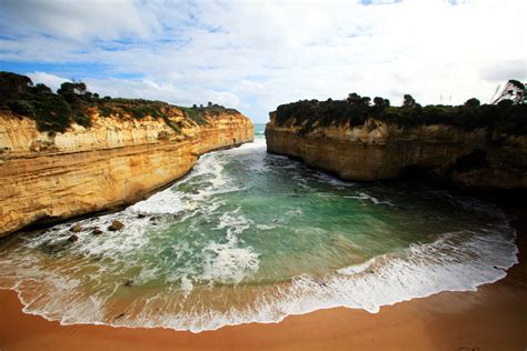 In Australia, the Great Ocean Road on the Southern Coast