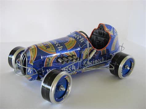 Handmade Model Cars Built with Recycled Cans | Gadgetsin