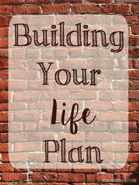 Building Your Life Plan | Intentional Hospitality