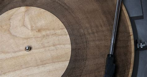 Laser-Cut Wooden Records Give New Meaning to 'Tree Rings
