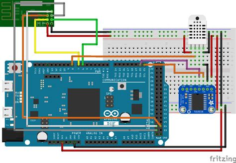 NRF24L01 Based Wireless Weather Station with DHT22 and 3