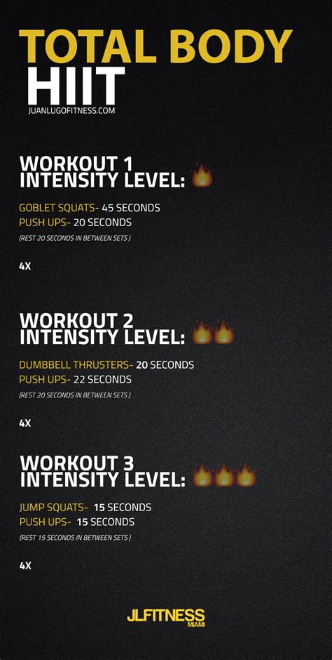 ?? 9 TOTAL BODY HIIT WORKOUTS