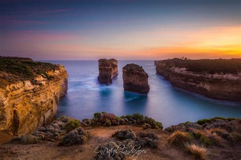 Loch Ard Gorge, Port Campbell, Australia - What used to be