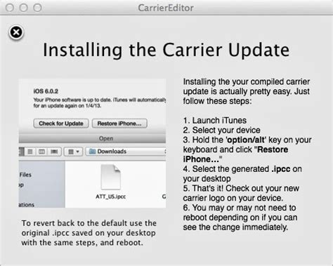 How To Change Carrier Logo Of iPhone Without Jailbreaking