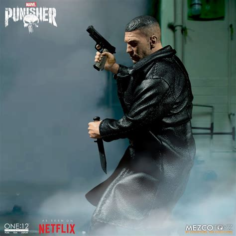 Mezco One:12 Netflix Punisher Pre-Orders Live! - The