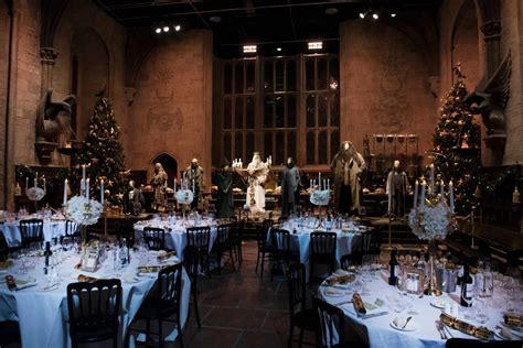 Hogwarts' first Christmas Feast and Yule Ball will be pure
