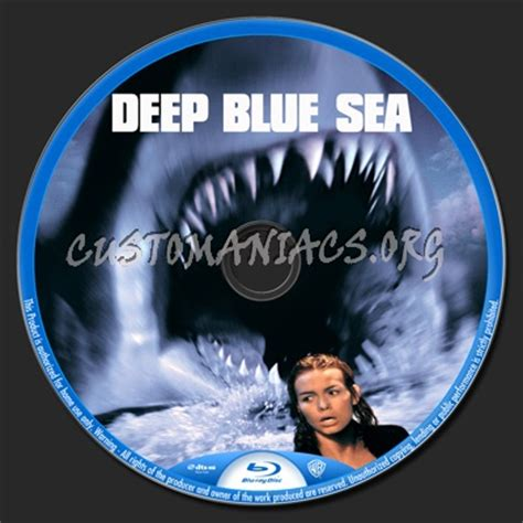 Deep Blue Sea blu-ray label - DVD Covers & Labels by