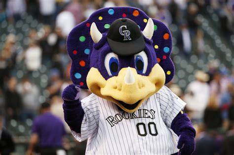 Meet 'Dinger,' The Colorado Rockies Mascot Fans Love To