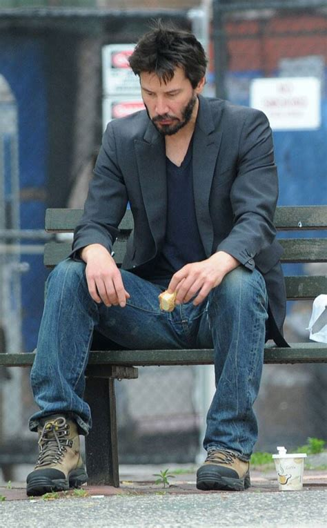 Keanu Reeves from Celebrity Sadface :( | E! News