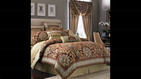 Bedroom Comforter And Curtain Sets - YouTube