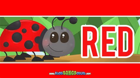The Color Red Song   Kids Songs with Action And Lyrics
