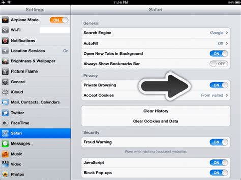Protect Your Privacy with Private Browsing In Safari