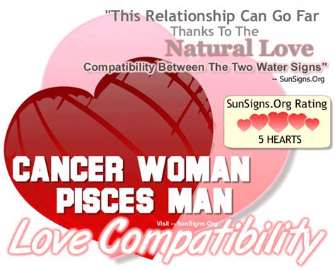 Cancer Woman And Pisces Man - A Naturally Compatible
