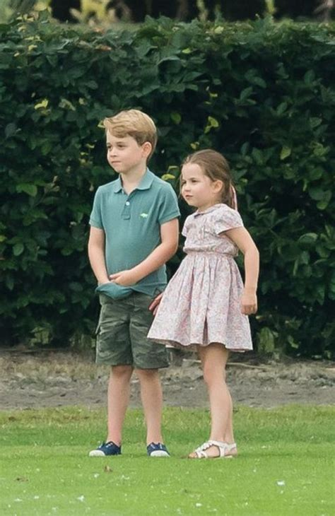 What Prince George and Princess Charlotte Were Up To