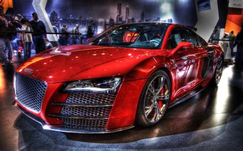 New Audi R8 Red