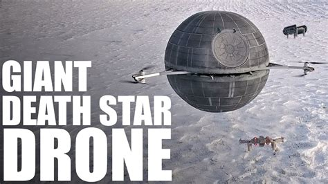 Giant RC DEATH STAR Drone | STAR WARS - YouTube