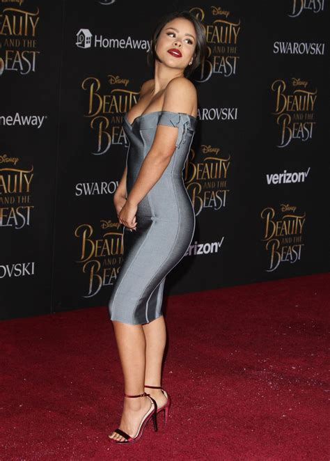 CIERRA RAMIREZ at Beauty and the Beast Premiere in Los