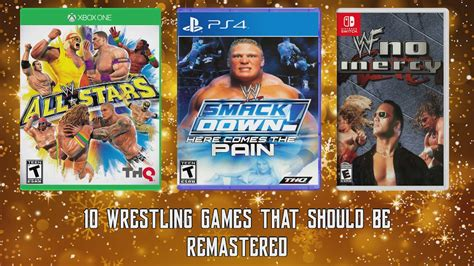 10 Wrestling Games That Should Be Remastered - Includes