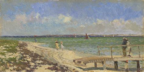 Breezy day at Point Henry, near Geelong | Walter WITHERS