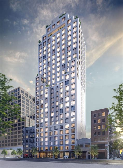 Hudson Square's 30-story condo, Greenwich West, begins its