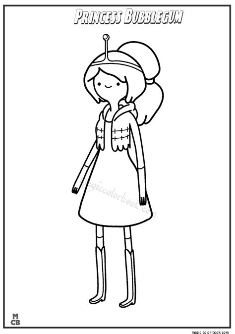 Adventure Time Coloring Pages Finn - Coloring Home
