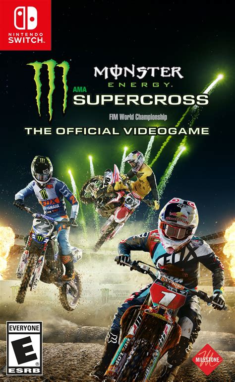 Monster Energy Supercross: The Official Videogame Release