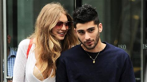 Gigi Hadid and Zayn Malik Hold Each Other Close While Out