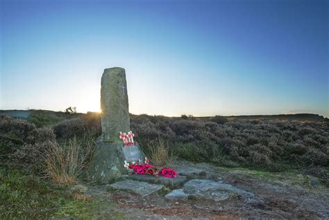Ilkley Moor WWII Crash Site   During World War Two at