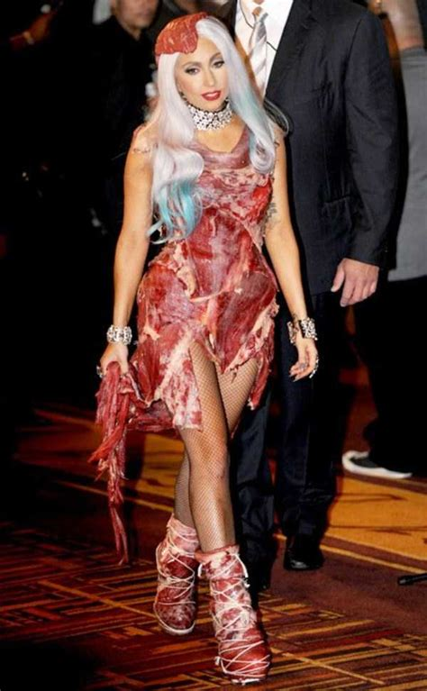 The Most Bizarre And Shocking Pictures Of Lady Gaga & Her