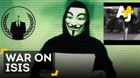 Anonymous Declares War On ISIS After Paris Attack - YouTube